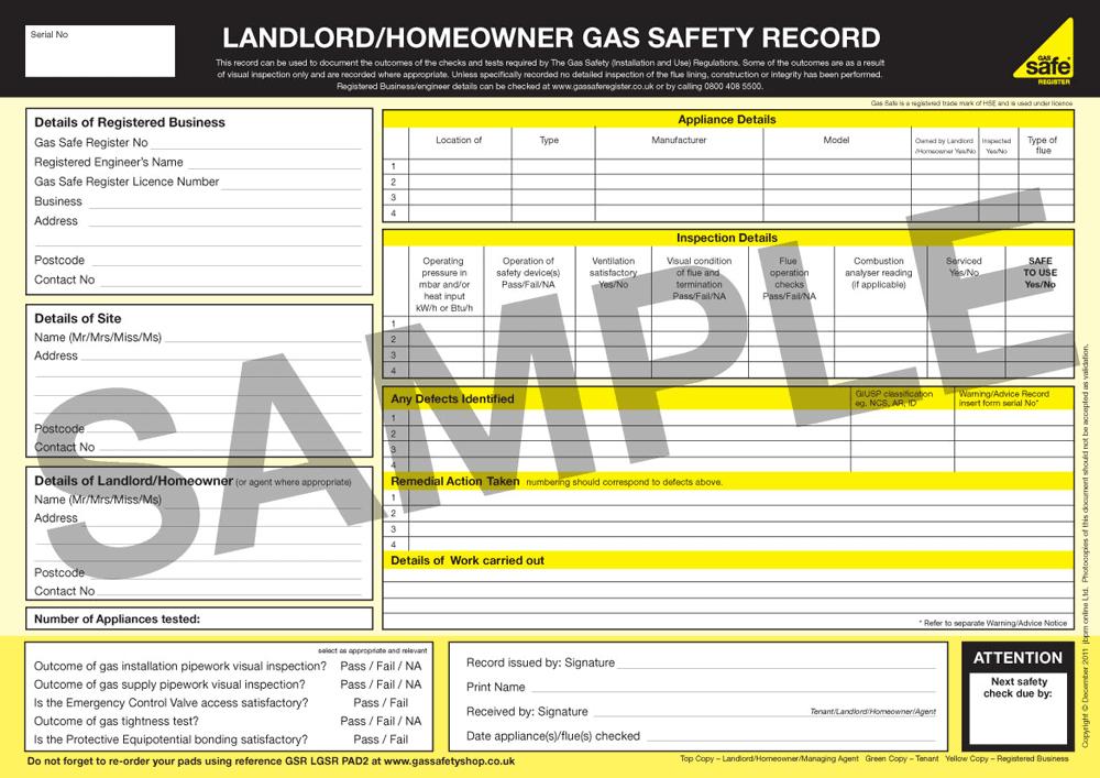 landlord-gas-safety-certificate-bristol